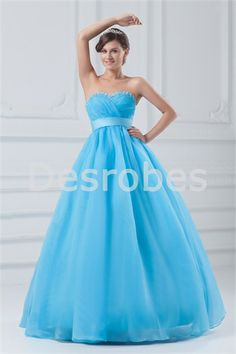Quinceanera Dresses/Ball Gown Dresses/Wedding Dresses/Evening Dresses A-Line Sweetheart Sleeveless Natural Zipper Floor-Length Tulle Beading Prom Dress 2014, Best Prom Dresses, Girls Formal Dresses, Beautiful Prom Dresses, Prom Dresses Online, Prom Dresses Blue, Cheap Prom Dresses, Dresses 2014, Prom 2014