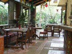 Interior view of Kusina Salud  Laguna, Philippines