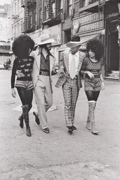 Harlem fashion/style 1970s.