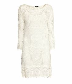 Product Detail | H MY: White knitted dress