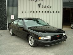 The 96 Impala SS doesent look too cool but had a Corvette engine in it.