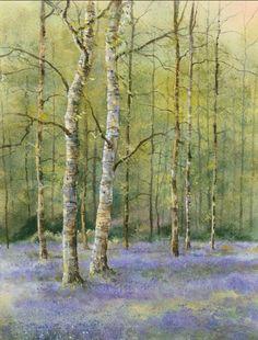 Geoff Kersey - A Bluebell Wood