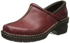 Eastland Women's Kelsey Slip-On Loafer, Burgundy, 9 W US