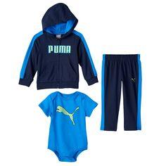 Baby Boy PUMA Hoodie & Pants Set