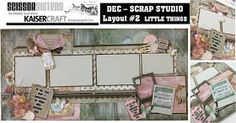 SCISSOR SISTERS KAISER KIT CLUB: December 2018 - SCRAP STUDIO & LETS GO