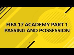 http://www.fifa-planet.com/fifa-17-tips-and-tricks/fifa-17-passing-and-possession-tutorial-fifa-17-academy-part-1/ - FIFA 17 Passing and Possession Tutorial - FIFA 17 Academy Part 1  In this FIFA 17 passing and possession tutorial, I show you how to dominate and frustrate your opponents with 3 simple tips. Use this video as a guide for shaping how you pass and maintain your build up play. Join our Discord: https://discord.gg/fSzw8qE Twitter:... Cheap FIFA Coins: http://bit.