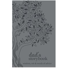 "You've heard your dad's latest tall tale a hundred times-with bigger fish and a few more bears at every retelling-but those are the kinds of stories that make family so special! Now he can record those memories and other ""dad-isms"" to impart with a. Lds Books, Pedigree Chart, Kinds Of Story, Keeping A Journal, Tall Tales, Word Of Advice, Retelling, Big Fish, Nonfiction Books"