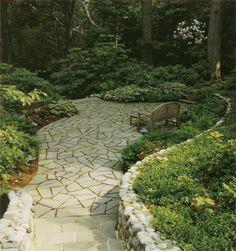 patio on slope; Sunset Hillside Landscaping, pg 36