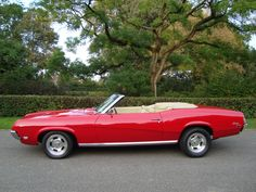 Killer cat...  Mercury Cougar convertible 1969 'Lightweight' 67 68 69 70 ford mustang cabrio musclecar 351 4V