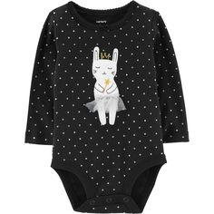69cd80662 Baby Girl Carter s Polka-Dot Dance Mouse Bodysuit
