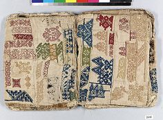 Sample Book    Date:      early 17th century  Culture:      Spanish or Italian  Dimensions:      8 x 6in. (20.3 x 15.2cm)  Classification:      Textiles  Credit Line:      Gift of Miss Mary Parsons, 1925  Accession Number:      25.92