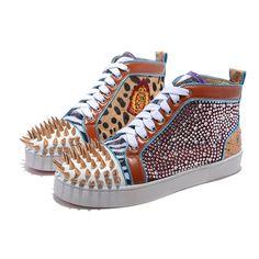 Christian Louboutin - Mens Metall Sneakers Pánské Tenisky 174dd87827