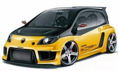 Renault Twingo II | Twingo Tuning Clio Sport, Renault Sport, Automobile, Gt Turbo, Volkswagen Models, Lamborghini, Modified Cars, Car Wrap, Courses
