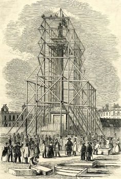 Construction of Nelson's Column Nelson's Column, Columns, Regency, Cnc, Folk, Louvre, Construction, London, Building