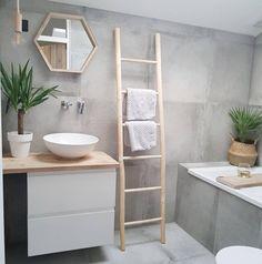 bathroom Badezimmer Inspiration: 10 schöne Badezimmer Source by apgiven Diy Bathroom Decor, Basement Bathroom, Bathroom Interior, Bathroom Ideas, Bathroom Wall, Bathroom Fixtures, Bathroom Vanities, Basement Laundry, Concrete Bathroom