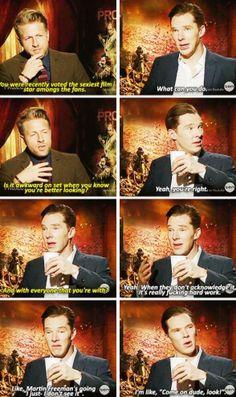 Oh, Benedict :)