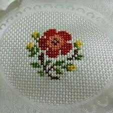This Pin was discovered by Nur Small Cross Stitch, Cross Stitch Cards, Cross Stitch Borders, Cross Stitch Rose, Cross Stitch Samplers, Cross Stitch Flowers, Modern Cross Stitch, Cross Stitch Designs, Cross Stitching