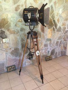 manes marzano collection reflector de cine antiguo-argentina