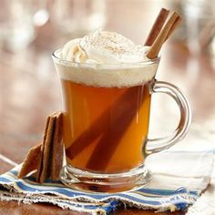 Stay warm with this Vanilla Spiced Pear Cider recipe from R.W. Knudsen