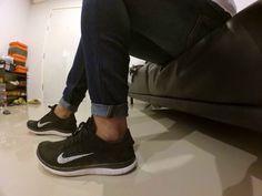 663b74c7049 Nike Free Flyknit 4.0 Black