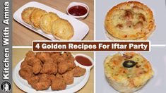 4 Golden Recipes For Iftar Party Iftar Party, Ramadan Recipes, Make It Yourself, Snacks, Breakfast, Kitchen, Youtube, Hams, Food