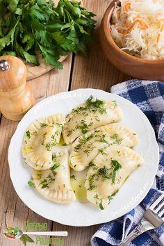 Постные вареники с картошкой. Рецепт с фото и видео