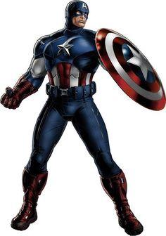 Captain America (movie costume) - from Marvel Avenger's Alliance game on Facebook