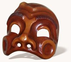 More modern and widely known Harlequin mask.