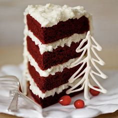 Decadent Red Velvet Desserts: Red Velvet Cake with Coconut-Cream Cheese Frosting