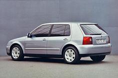 Volkswagen Golf Mk 4 clay model