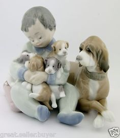 LLADRO - NEW PLAYMATES Halloween Miniatures, 10 Picture, Royal Copenhagen, Fine Porcelain, Dogs And Puppies, Statue, Dolls, Bone China, Cheers