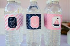 The Party Wagon - Blog - PREPPY PINK AND BLUE NAUTICAL PARTY