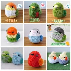 kawaii bird crochet. - Google Search