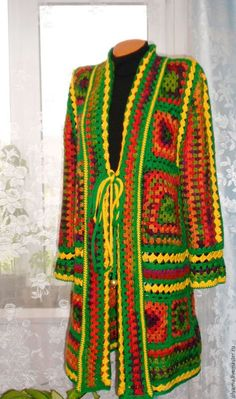 Men Sweater, Dresses With Sleeves, Sweaters, Cardigans, Boho, Knitting, Crochet, Long Sleeve, Vests