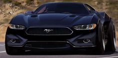 2015 Mustang Mach 5 Concept - That's a MEAN looking 'Stang!