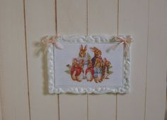 Dollhouse miniature frame for kid bedroom by LaBelleCuisineByMe