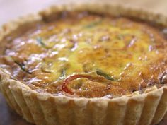 Get Paige's Quiche Recipe from Food Network