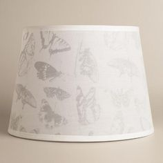 One of my favorite discoveries at WorldMarket.com: Butterfly Table Lamp Shade