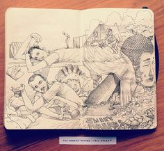 Interview for iGNANT by Jared Muralt, via Behance