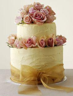 Little Wedding Cakes One Tier Wedding Cakes Simple Wedding Cake