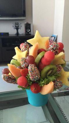 Tasty fruit bouquets from Angels!  Smakowite bukiety owocowe od Angels Fruit Bouquets!  #fruitbouquets #tasty #yummy #bukietyowocowe