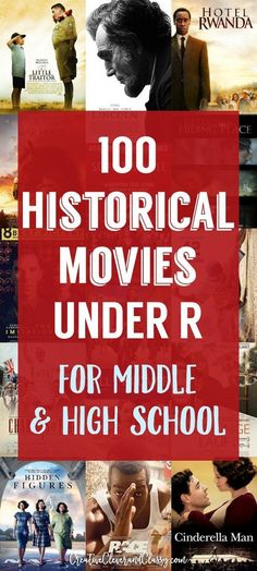 Historical Movies for Middle School and High School Under R Hollywood has pushed out some impressive historical dramas. Here are some great quality historical movies for junior high and high school, under R. Social Studies Classroom, History Classroom, History Education, Teaching Social Studies, History Teachers, Teaching History, Education Major, Education Quotes, Teaching Quotes
