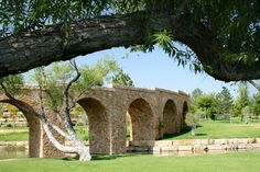 Stone Arches of Mesa Vista Ranch in Texas - See more at: http://chambersarchitects.com/blog/231-the-endurance-of-the-roman-arch.html And take a look at more photos like this one at: http://chambersarchitects.com/blog.html