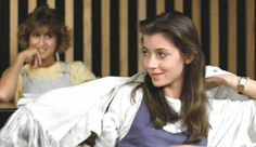 My fiance and I are having an movie weekend and we just finished watching Ferris Bueller's Day Off. Mia Sara, Ferris Bueller, Fringe Leather Jacket, Iconic Movies, 80s Movies, Day Off, Celebs, Celebrities, Girl Crushes