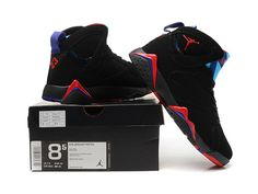a011cbdf38f Nike Air Jordan 7 VII Retro Raptor Black Red Purple AAA,Price:$80 Jordan