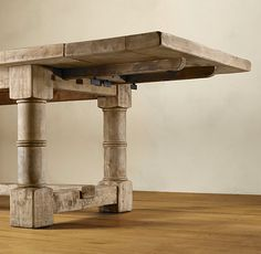 I wonder how hard it would be to turn the legs - Want this or a farmhouse table