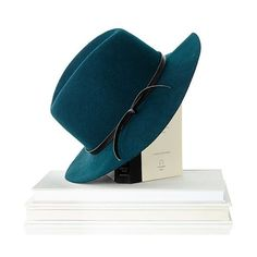 Mark & Graham Wool Fedora Hat, Size Small, Emerald ($25) ❤ liked on Polyvore featuring accessories, hats, emerald, monogrammed hats, hipster hat, wool fedora hat, woolen hat and fedora hat