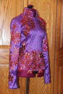 Sittin Pretty Show Clothing on FB!  Custom Western horse show jacket