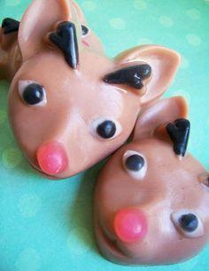 Chocolate Reindeer Soap