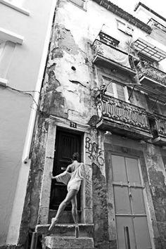 """Arte Grupo TheBlackSheep artista Saatchi;  Fotografía #art, """"El Proyecto de Lisboa de la bailarina # 9"""""""